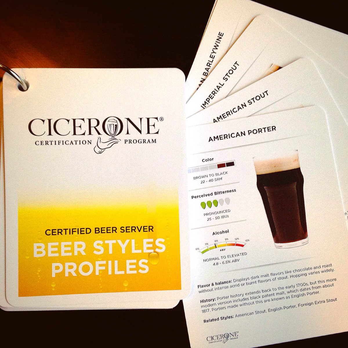 Cicerone certification program on twitter now available beer cicerone certification program on twitter now available beer styles profiles flashcards updated with the 2015 bjcp guidelines httpstsijqrj7nmv xflitez Image collections