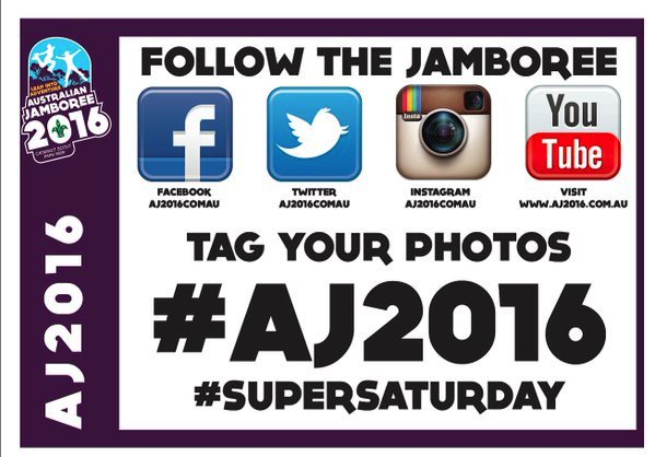 Big day today in #AJ2016 Media Centre. On #SuperSaturday we are expecting over 10,000 visitors to our camp! https://t.co/eQibMntS7Q