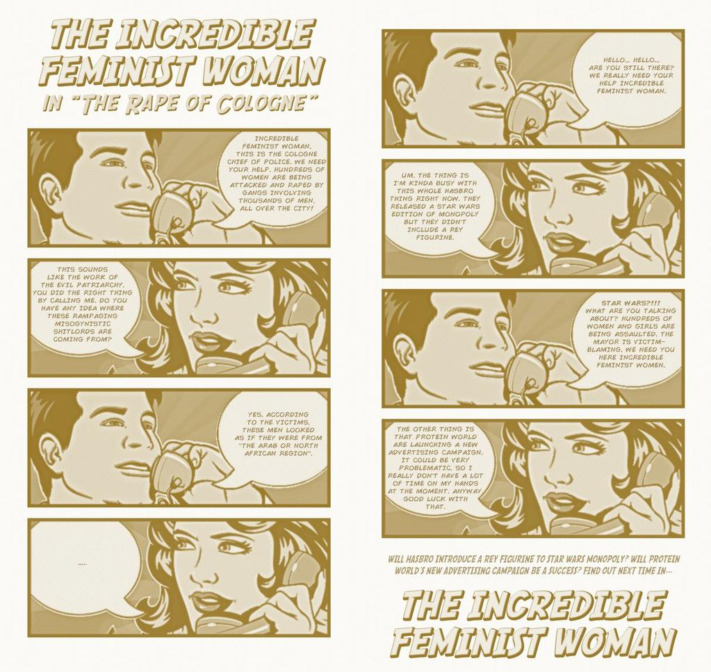 The Incredible Feminist Woman