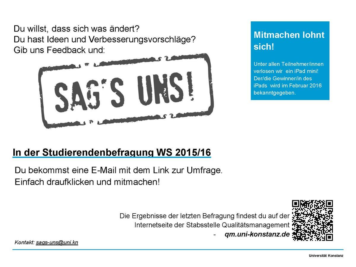 Universität Konstanz On Twitter Du Willst Dass Sich Was ändert