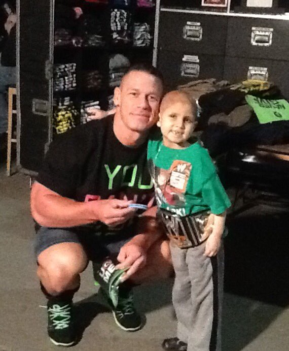 Connorscure on twitter backstagethough yet to meet johncena connorscure on twitter backstagethough yet to meet johncena unprompted came right over 2 connor and pic says the rest m4hsunfo