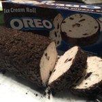 【歓喜】オレオのアイスクリームロールなるものが発見される!