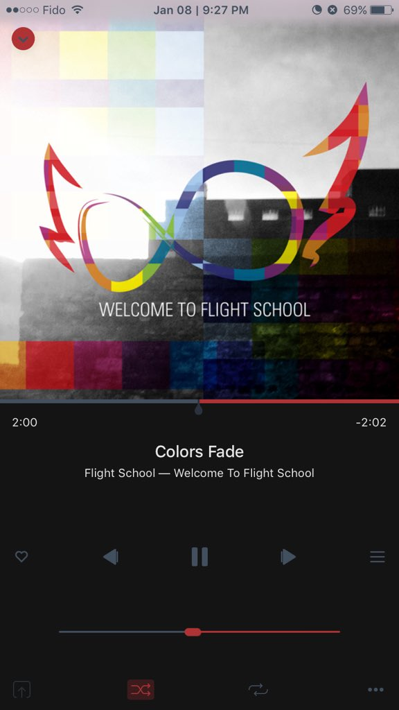 here's what I'm listening to right now. some great vibes! give it a listen. #ColoursFade by @FlightSch