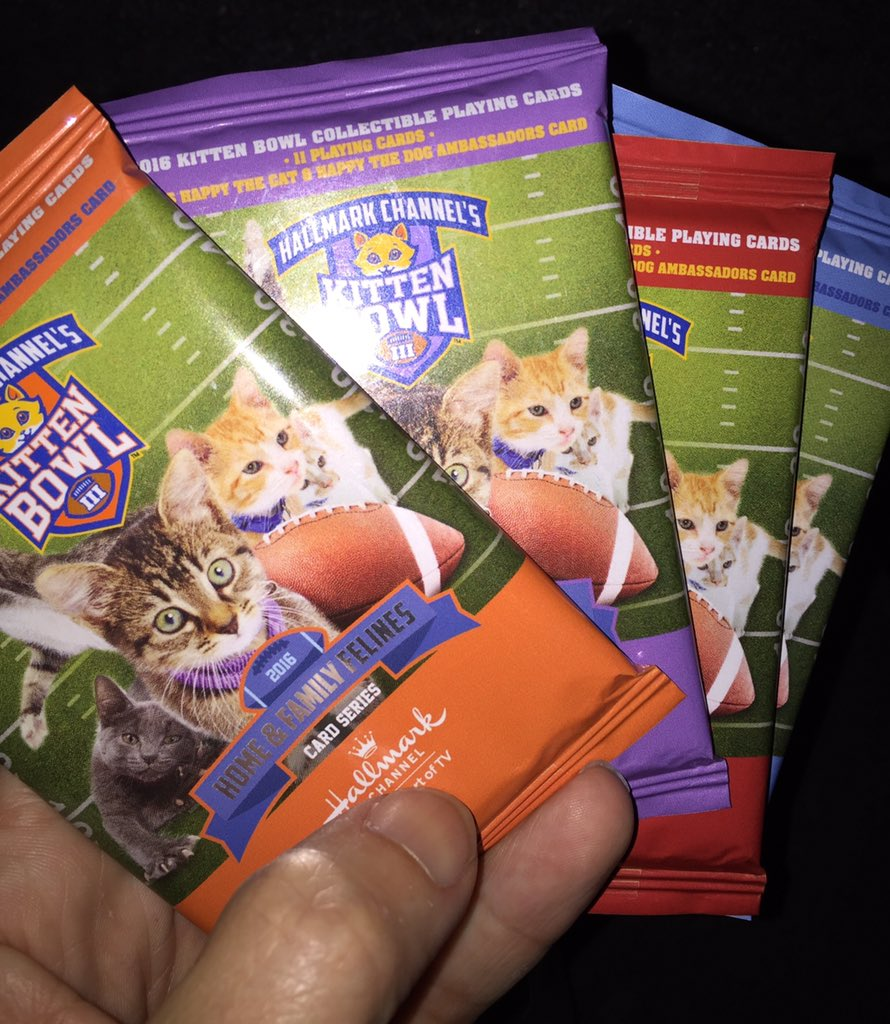 Matt Mitovich On Twitter Kitten Bowl Trading Cards Hallmark Tca16 Https T Co 9v144gpbac