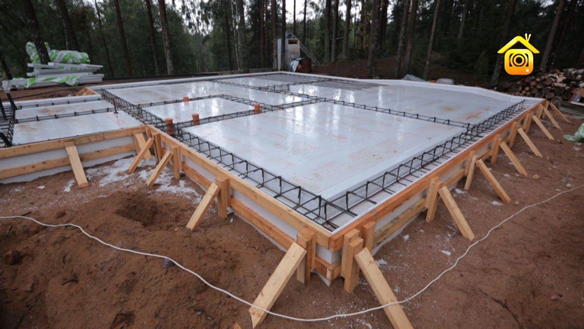 строительство монолитного фундамента
