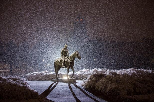 Last night #Raiderland was covered in a blanket of beautiful snow! #IAmARedRaider https://t.co/1AUmTV8uxz