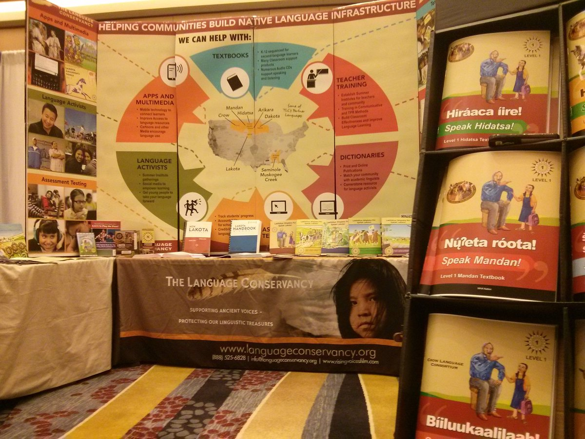 We are at the annual @LingSocAm meeting! Stop by our booth & find out more about our projects! #language #LSA2016 https://t.co/3eKv4OzZtw