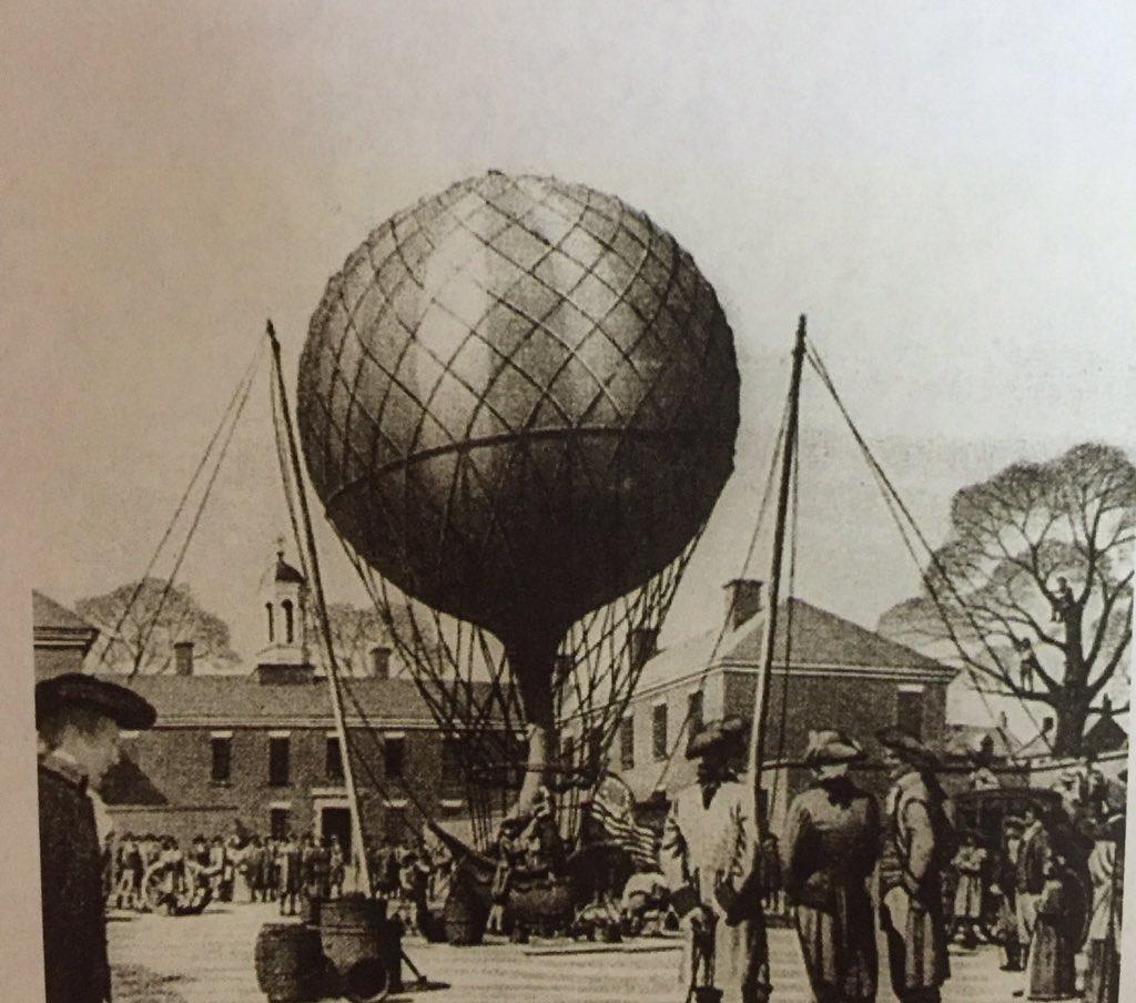 hot balloon First air