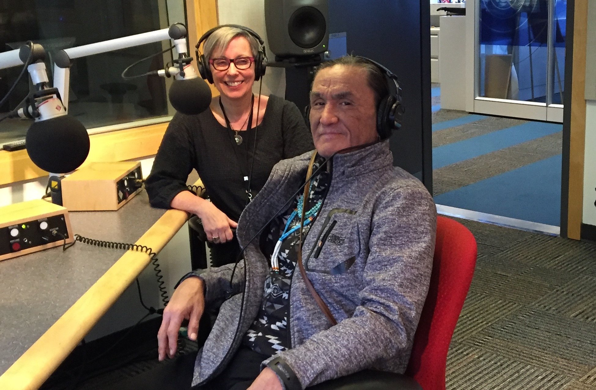 @DuaneE_Howard will be on @cbcradio's  @nxnwcbc w/ @sherylmackay in 20 mins Here all about being in @RevenantMovie https://t.co/2ndKC0hRto