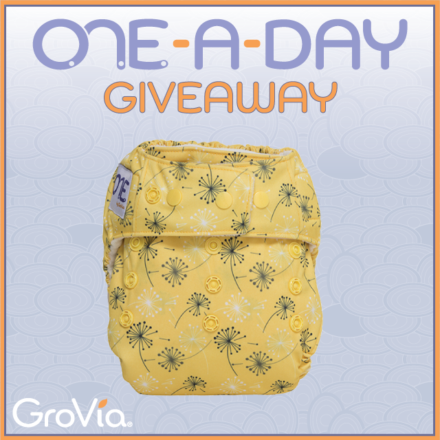 Get the perfect fit w/GroVia ONE #clothdiapers. R/T w/link for a chance to win 'Dandelions'! https://t.co/RCmZrT0KXD https://t.co/Oxl8NzhTQH