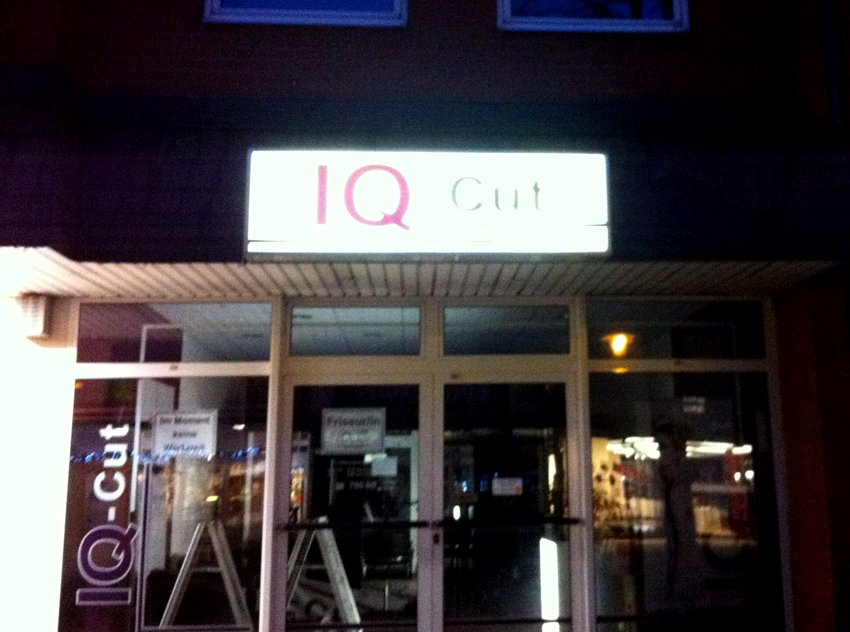 IQ-Cut ... wer will DAS denn? #friseurname #geesthacht