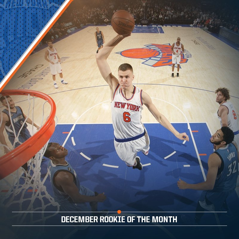 Kristaps Porzingis #NBAVote https://t.co/Tf4zLmCaDC