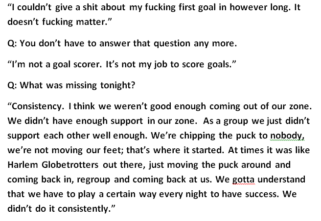 P.K. Subban was furious after the game. Here are his uncensored comments @Sportsnet https://t.co/pYP57TW9bQ