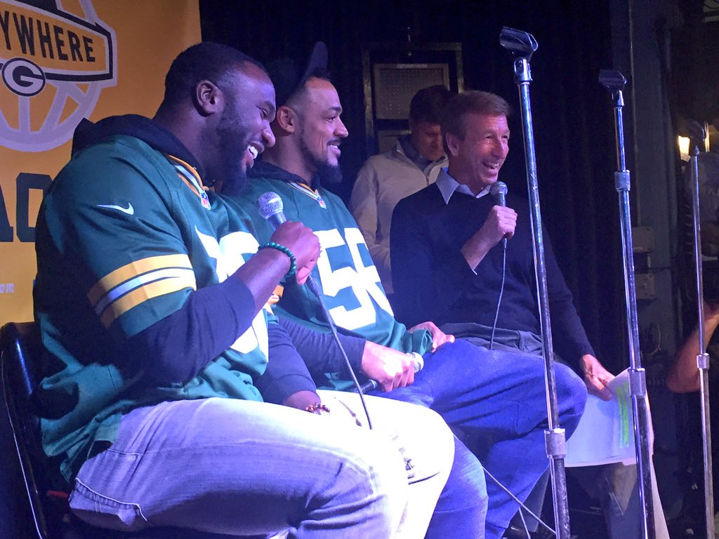 Q&A with #Packers alumni Nick Collins & Nick Barnett. https://t.co/atHlYo8GDc
