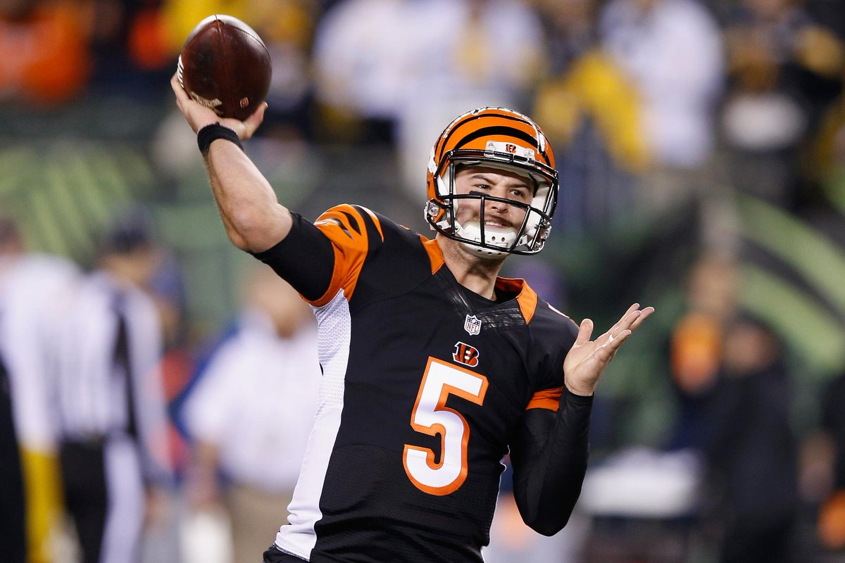 91e1e7cf Aj mccarron was 3 months, 24 days old the last time the bengals won ...
