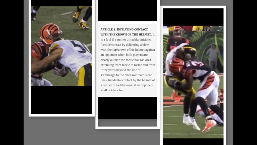Confirmation is better than Conversation. If Owners\League were taxed the refs wouldn't foul up! #Bengals #Steelers https://t.co/KOL9r6RQ8n