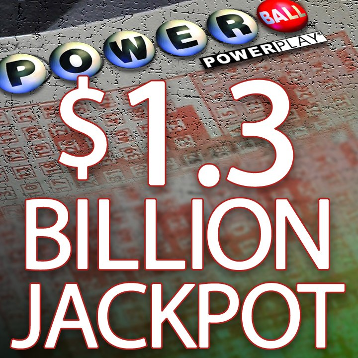 NO POWERBALL WINNERS: Jackpot grows to $1.3 BILLION. https://t.co/9JpYUwBnkr