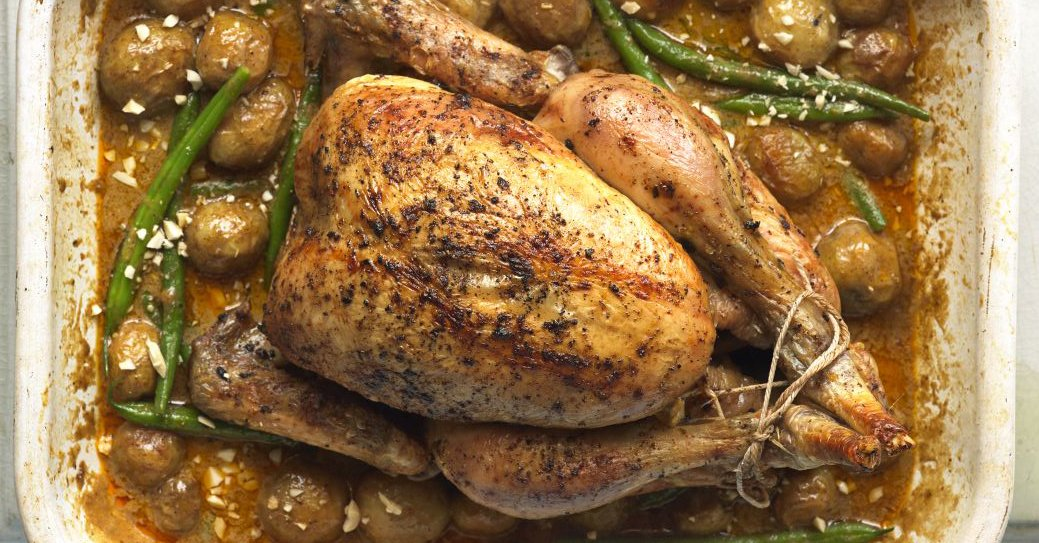 Bbc Good Food On Twitter Serve This Saucy Roast Chicken Dish With