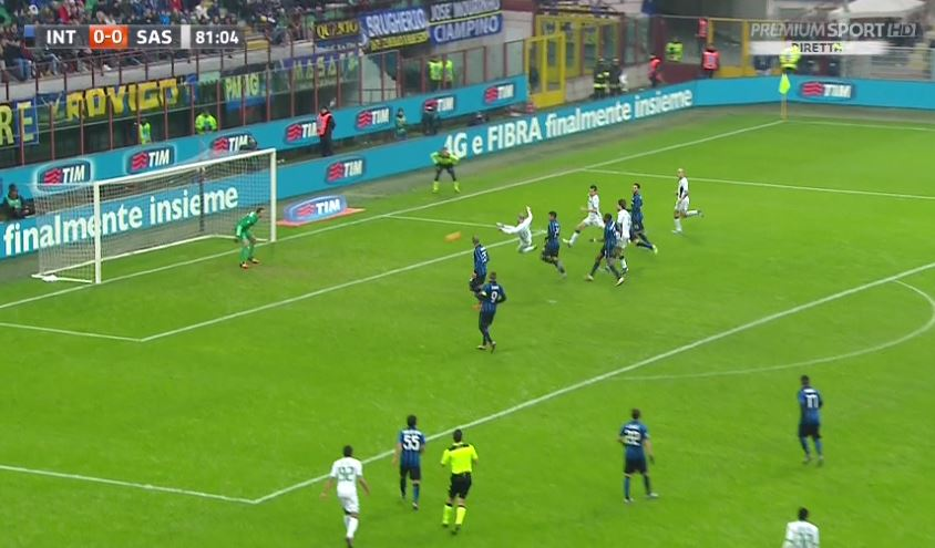Inter-Sassuolo 0-1 Video