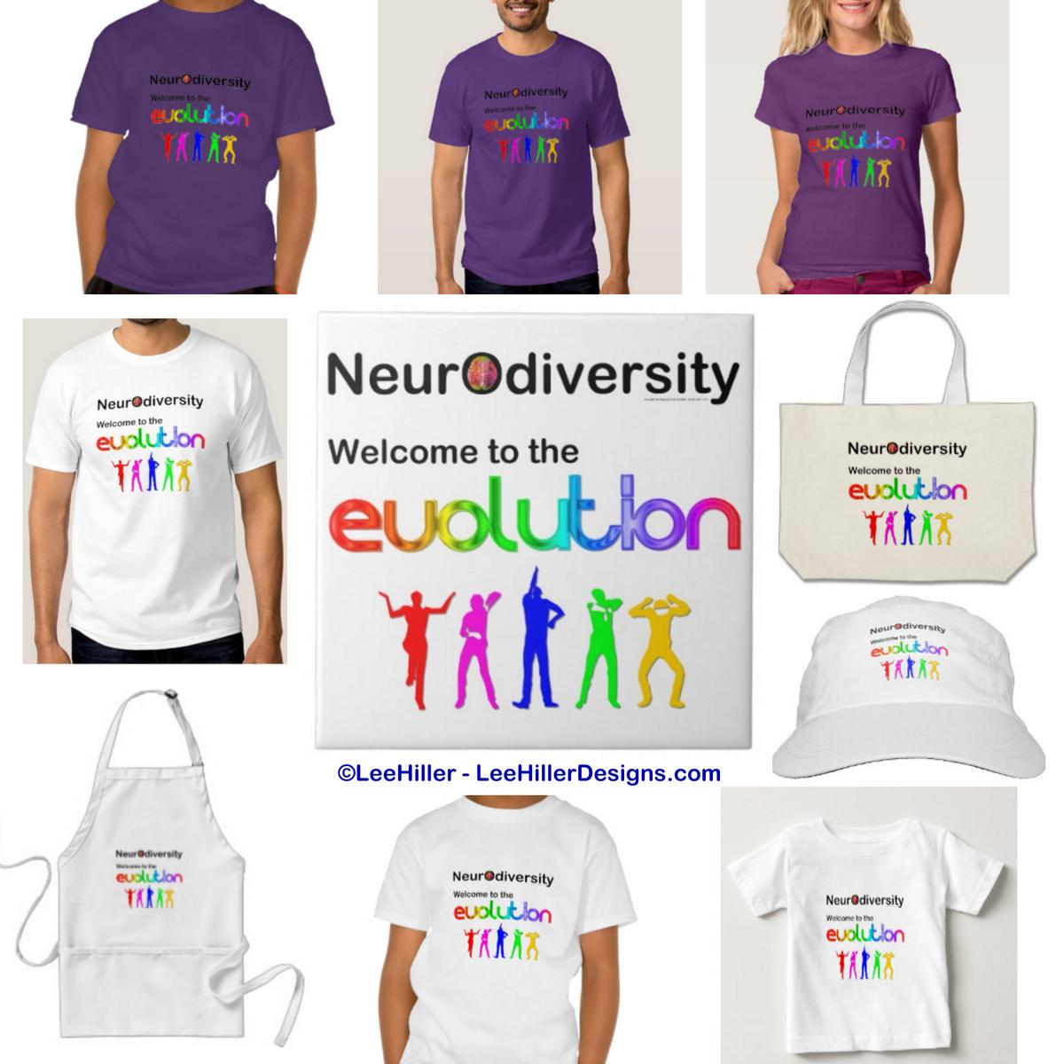 #Neurodiversity Welcome to the #Evolution #Autistic #Aspergers #Autism #TShirt #Apparel  http://bitly.com/NeurodiversityZ1…