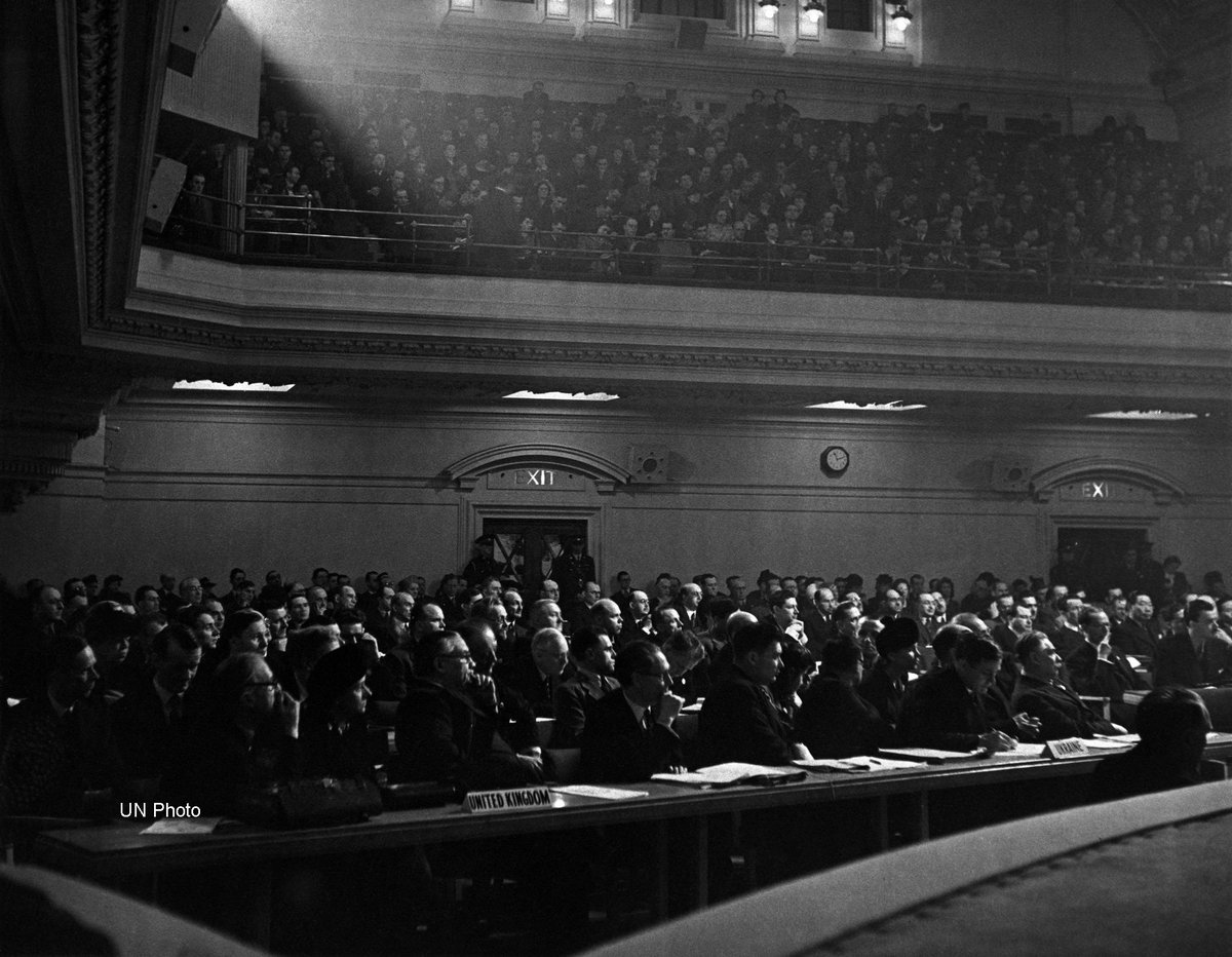 70 years ago today, the first @UN General Assembly met in London. Happy 70th #UNGA  https://t.co/mjfPg6nca9 https://t.co/YzvPT3y7P0