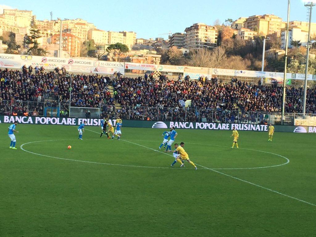 Frosinone-Napoli 1-5, Napoli è Campione d'Inverno