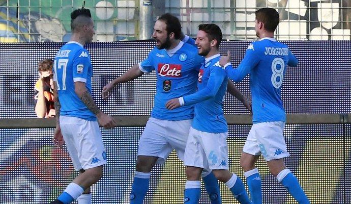Risultati Serie A: Napoli Campione d'Inverno e 6 vittorie esterne prima di Samp-Juve