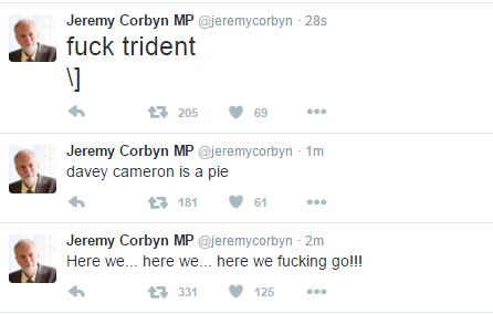 Has Gerry Adams hacked Jeremy Corbyn's Twitter account? https://t.co/2SMKz2qEDh