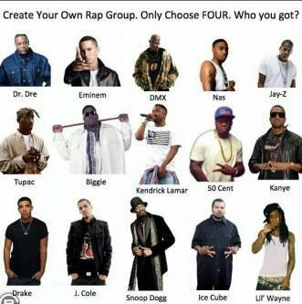 Drake, Eminem, Ice Cube & Lil' Wayne https://t.co/BVOBSG4Bg4