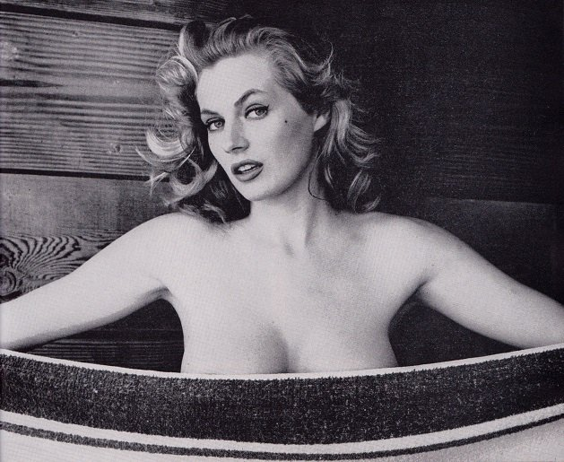 "VintagePhotos в Twitter: ""January 11, 2015-Anita Ekberg, Swedish ..."