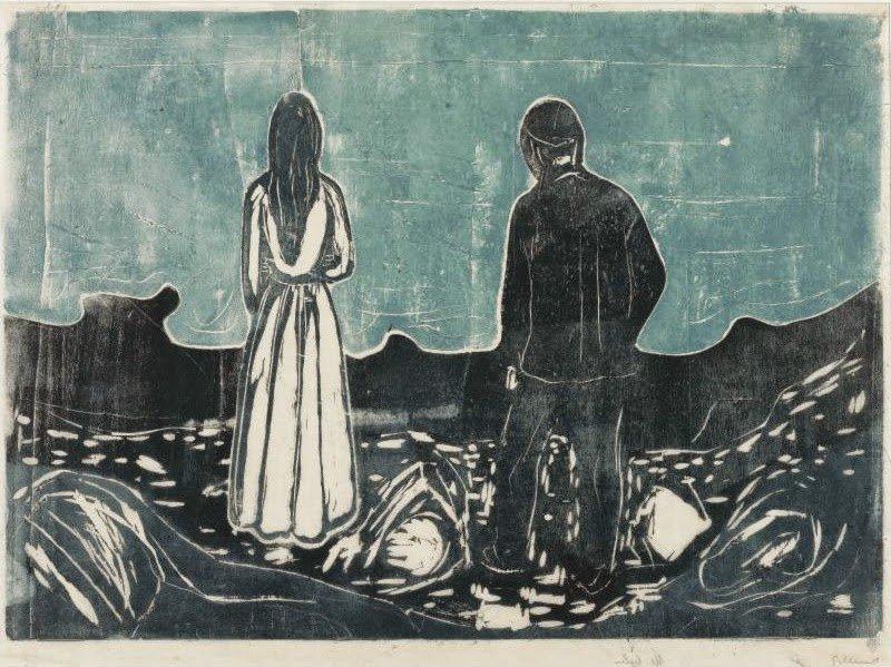 Una de las obras de Munch que no conocía y que más me han cautivado #MunchArquetipos @museothyssen https://t.co/nOjMueQYkn