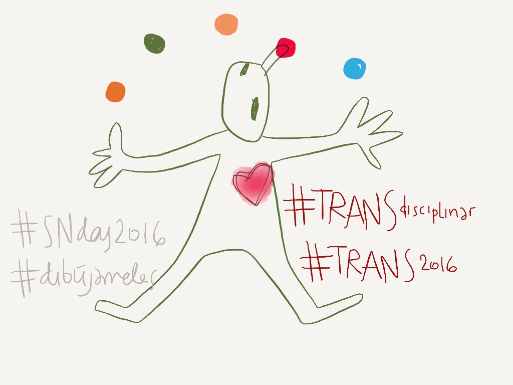 #madewithpaper #TRANS2016 #TRANSdisciplinar #SNDay2016 #dibujamelas https://t.co/hjcjFl1rPM