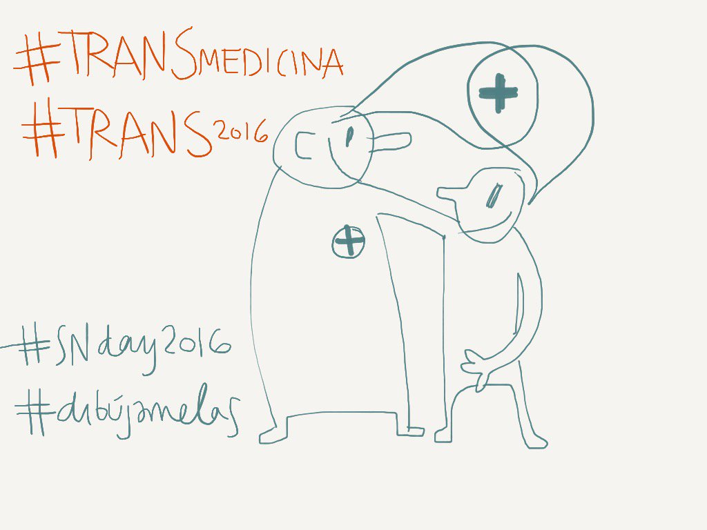 #madewithpaper #TRANSmedicina #TRANS2016 #SNDay2016 #dibujamelas @inakietxe https://t.co/eQbGfxlec4