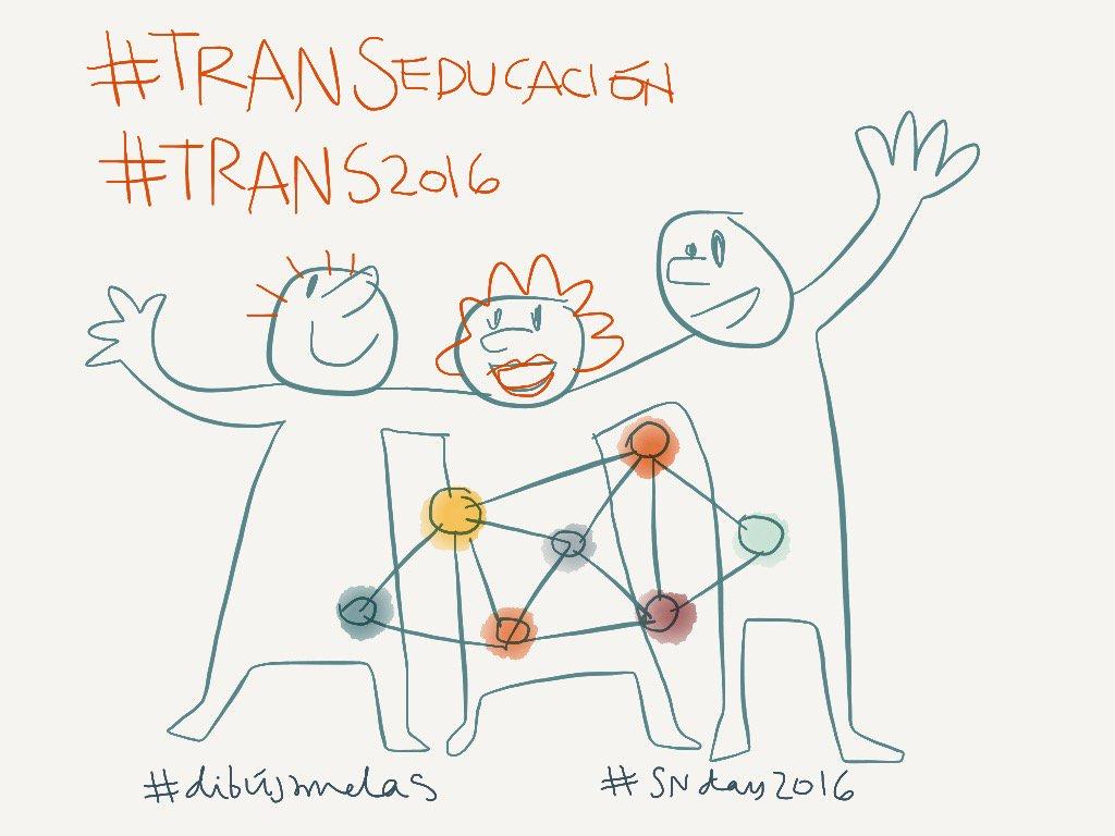 #TRANSeducación #TRANS2016 #SNDay2016 #dibujamelas @A7alde @agirregabiria @garbinelarralde #educafebilbao https://t.co/9WWPuQx42E