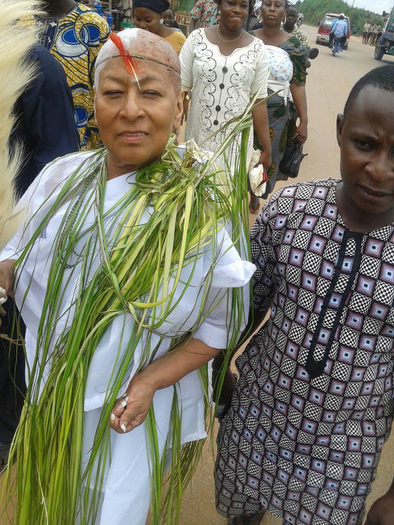 """Résultat de recherche d'images pour """"Benin, West Africa, Bonhicon, kagbanon bebe voodoo priest during a ceremony by Eric Lafforgue"""""""