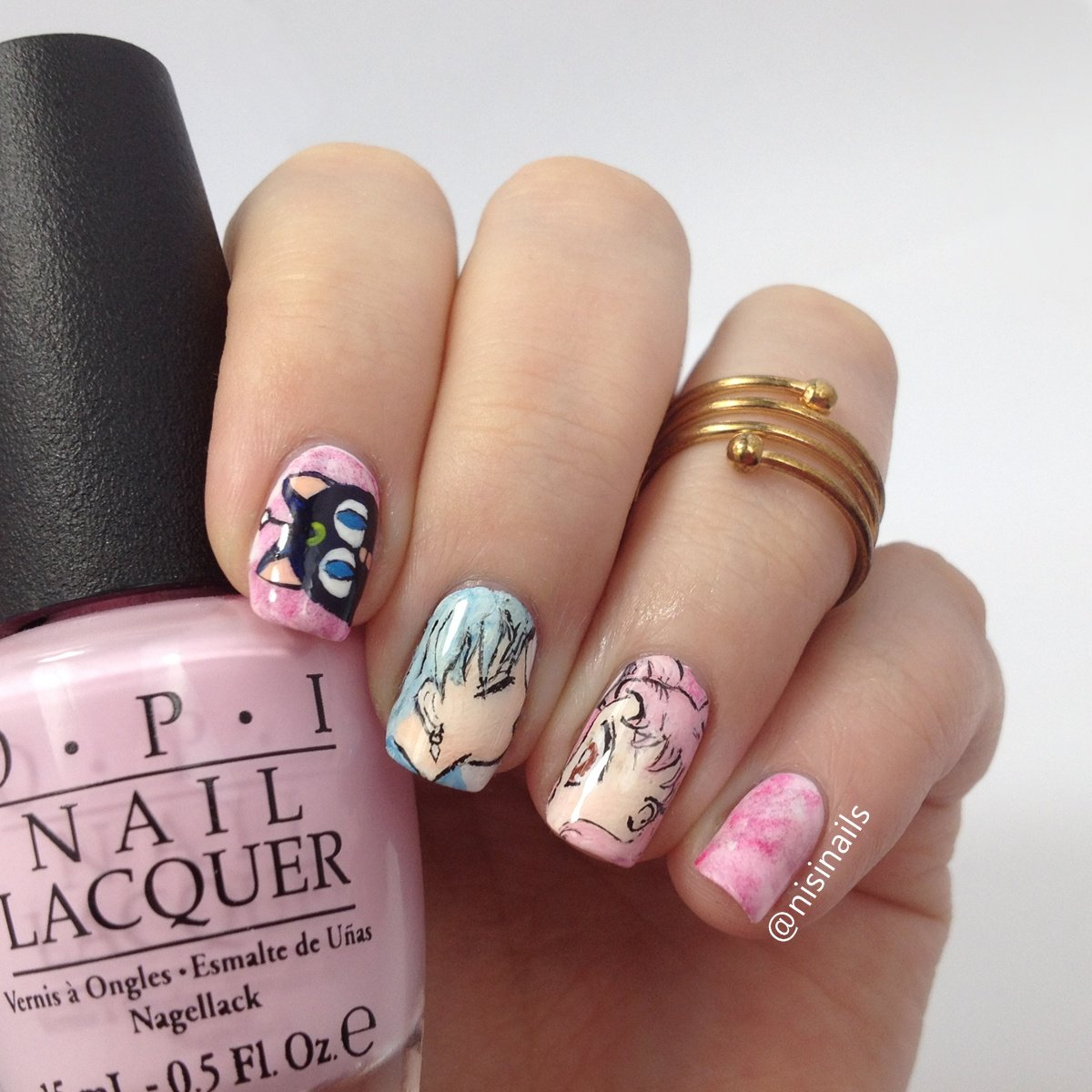 Nisi Nails On Twitter Sailormoon Blogparade Sailor Chibi