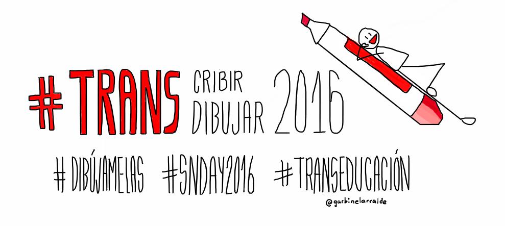 @asiergallastegi @agirregabiria #TRANSeducación #TRANS2016 #TRANScribir #TRANSdibujar #SNDay2016 #dibújamelas https://t.co/FyJhOUI8ZX