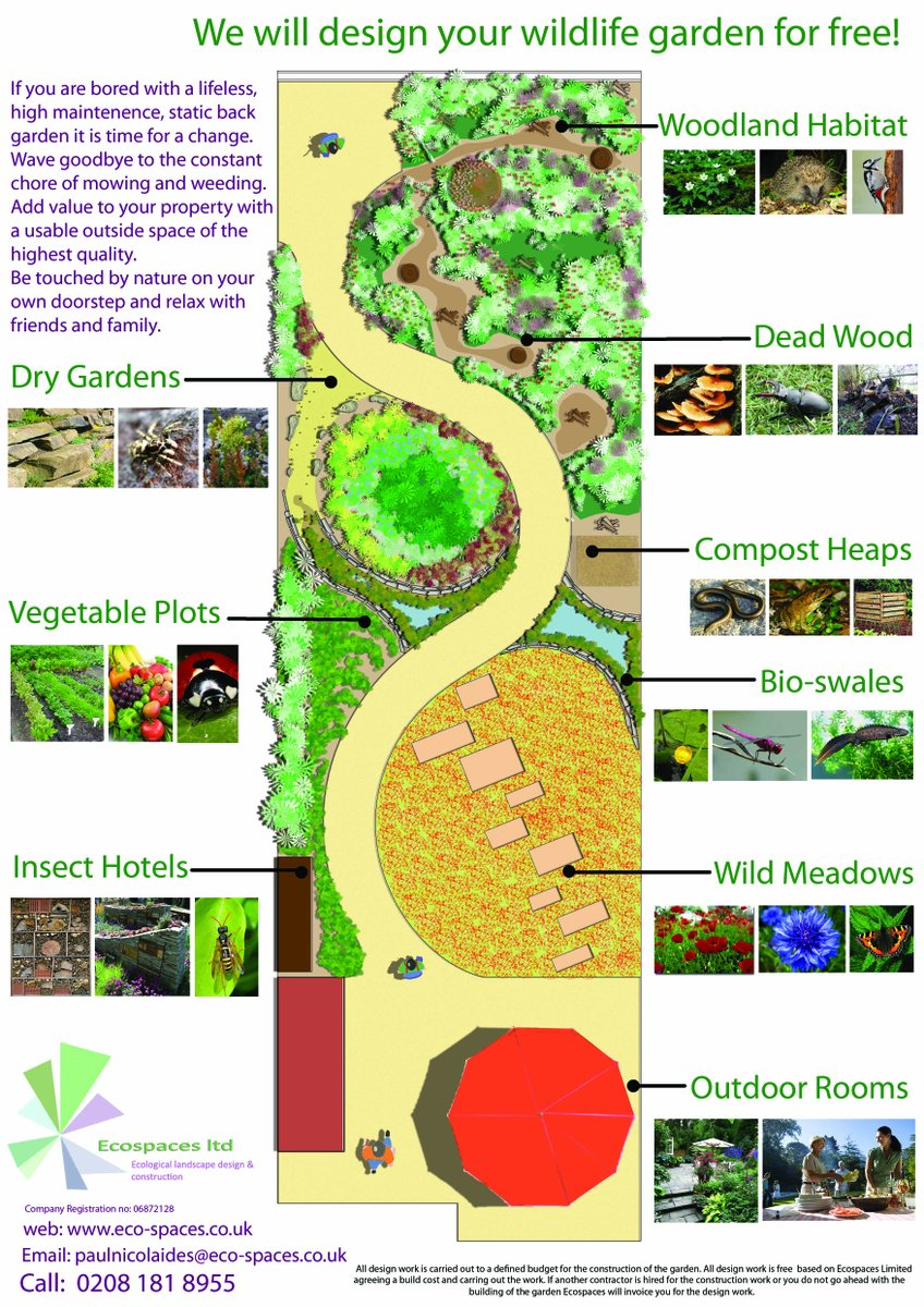 Eco Wildlife Gardens On Twitter A Recycled Garden For Wildlife