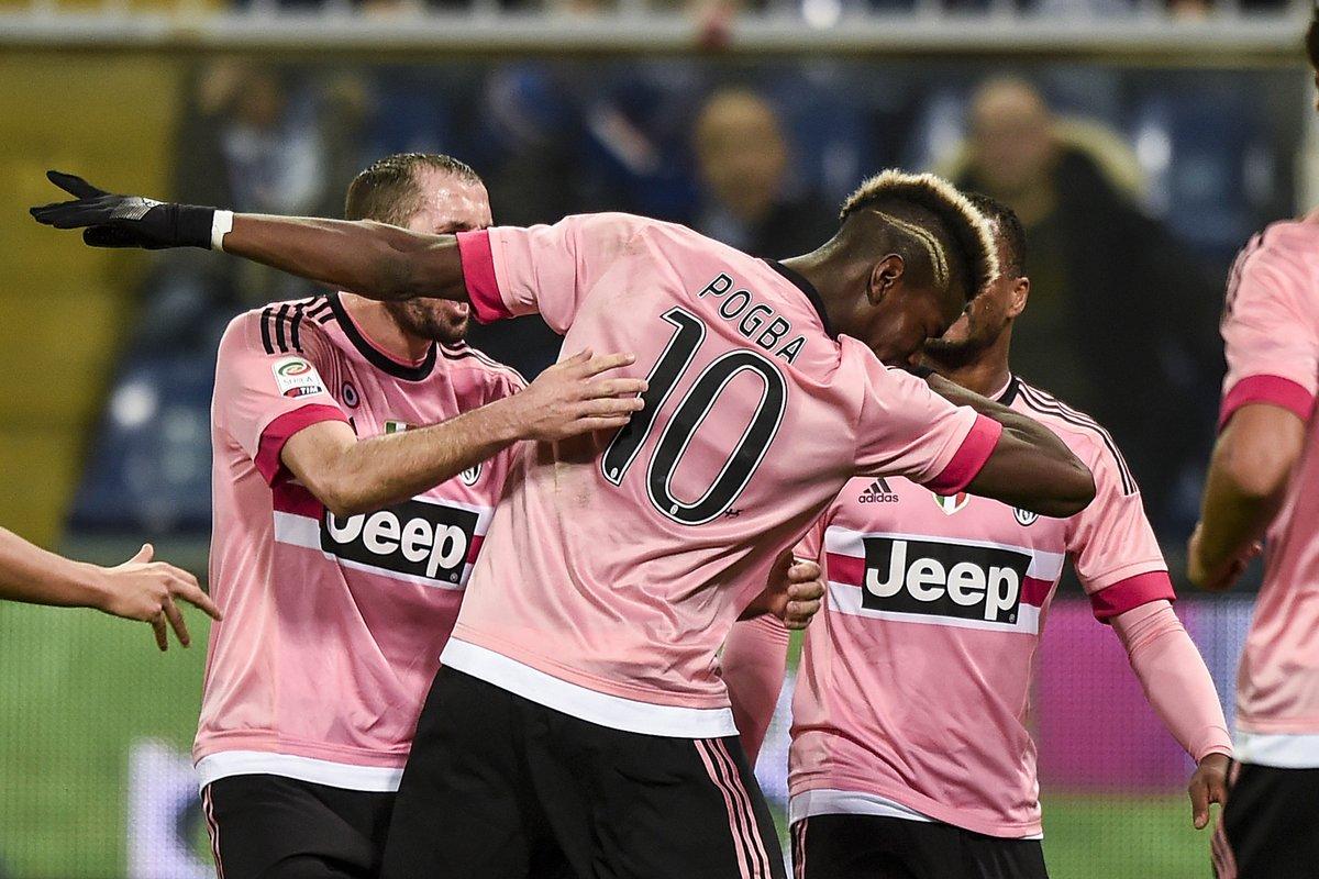 Sampdoria-JUVENTUS 1-2: Pogba e Khedira regalano la 2a posizione in classifica