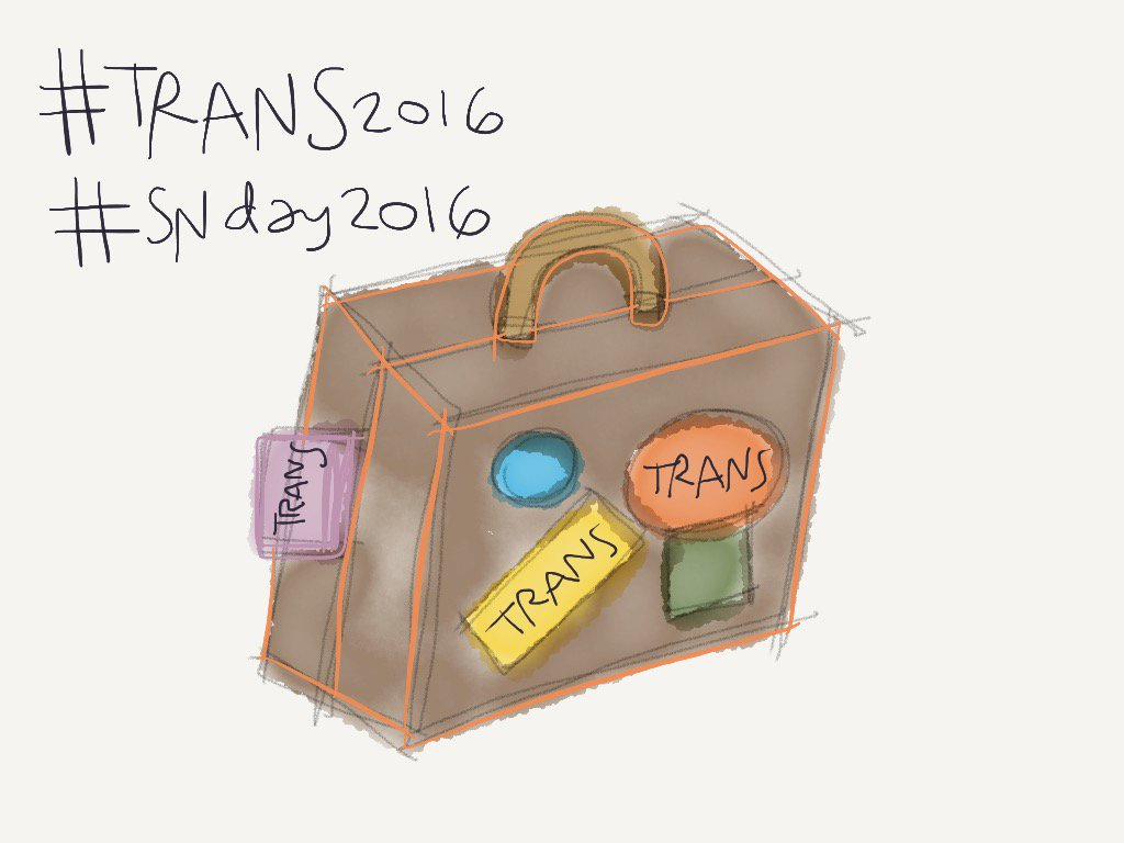 #madewithpaper #trans2016 #SNDay2016 https://t.co/RLuX4hYvZx