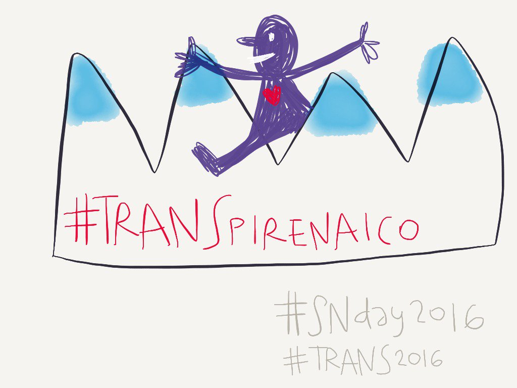 #madewithpaper #TRANS2016 #TRANSpirenaico #SNDay2016 https://t.co/odlAxVKJLr