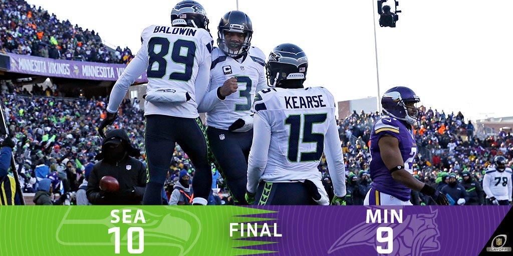 FINAL: Seahawks escape with a WIN! #SEAvsMIN