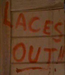 Image result for laces up ace ventura