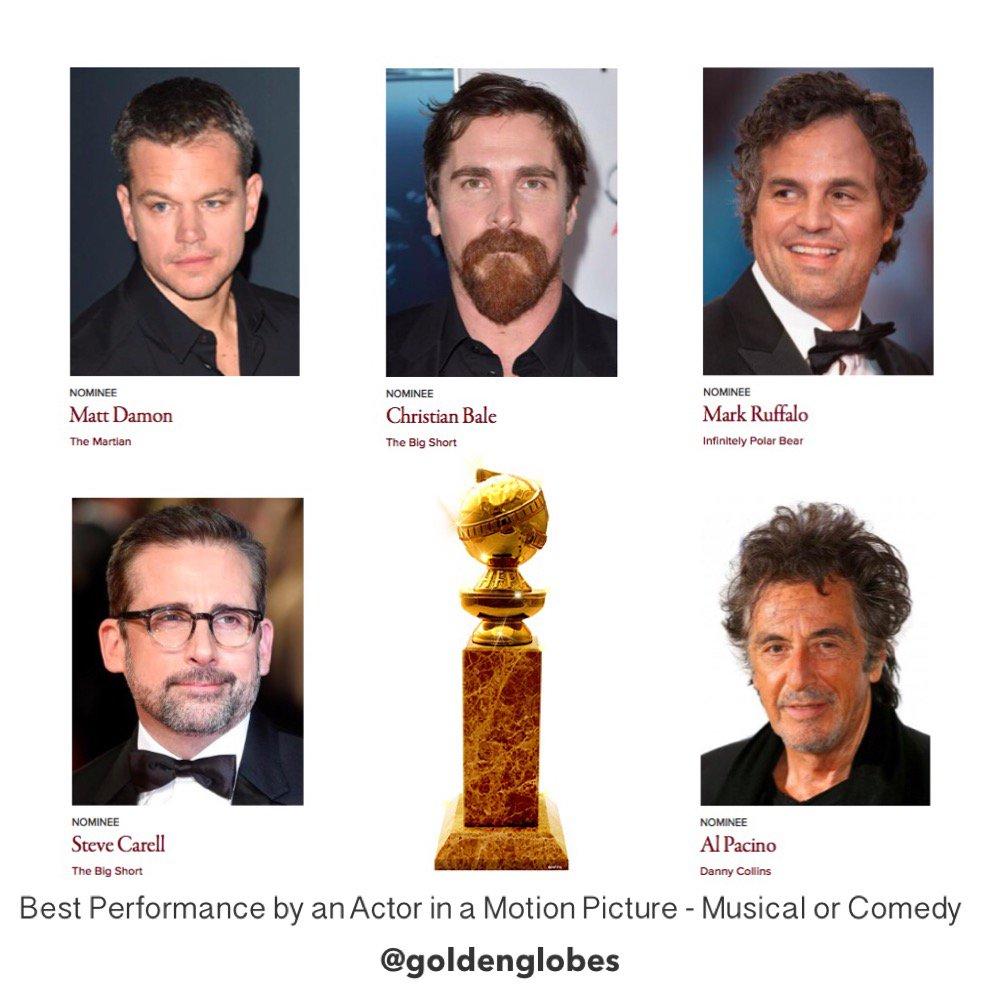 "Golden Globe Awards on Twitter: ""Up Next -Best Performance ..."