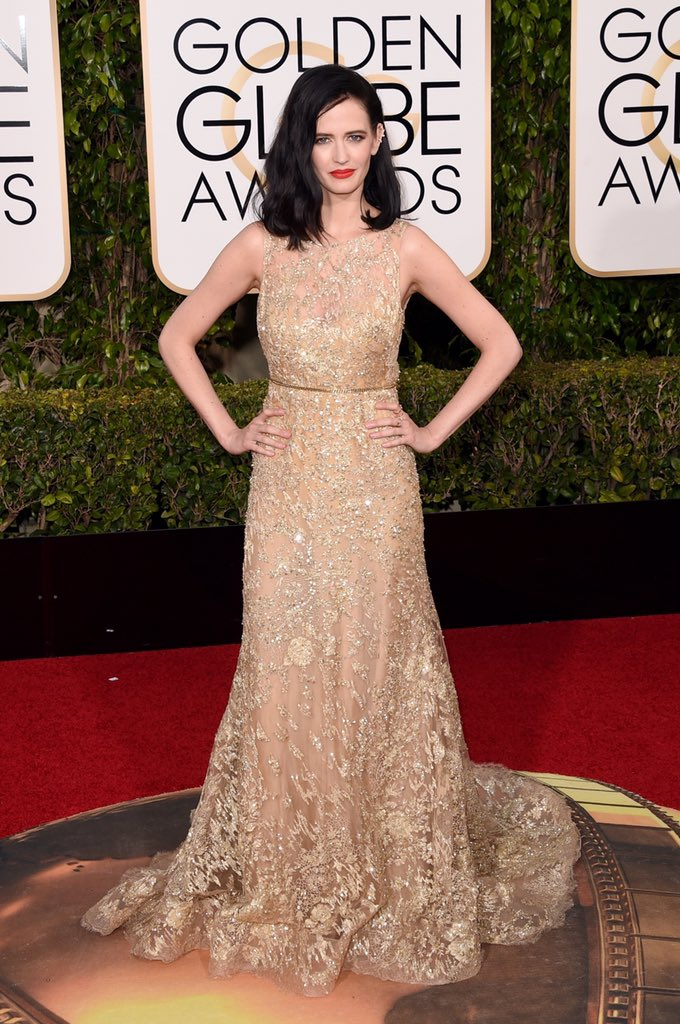 I have a nomination for worst hair #EvaGreen #ERedCarpet #GoldenGlobes https://t.co/qlgMO0OoOY