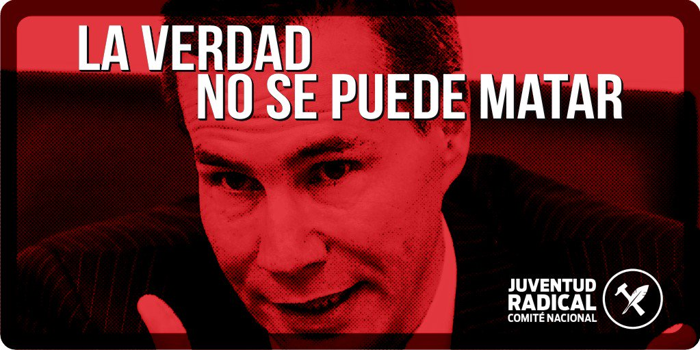 Al cumplirse un año de la muerte del fiscal Alberto #Nisman, la sociedad argentina sigue reclamando justicia! https://t.co/KgGOUsv0UB