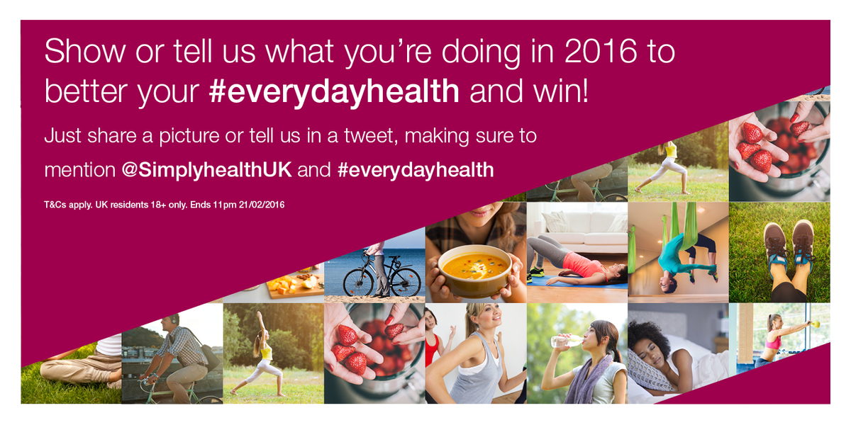 #Win a Fitbit Flex or iPad mini. UK residents 18+. Ends 21/02/16. T&Cs https://t.co/542Wrqebpq #everydayhealth https://t.co/XiZSg9PADb