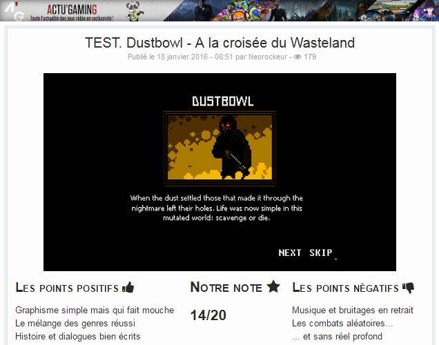 Dustbowl - Une aventure post-apocalyptique [Jeu terminé] - Page 2 CY_7QCeWUAAc1cu