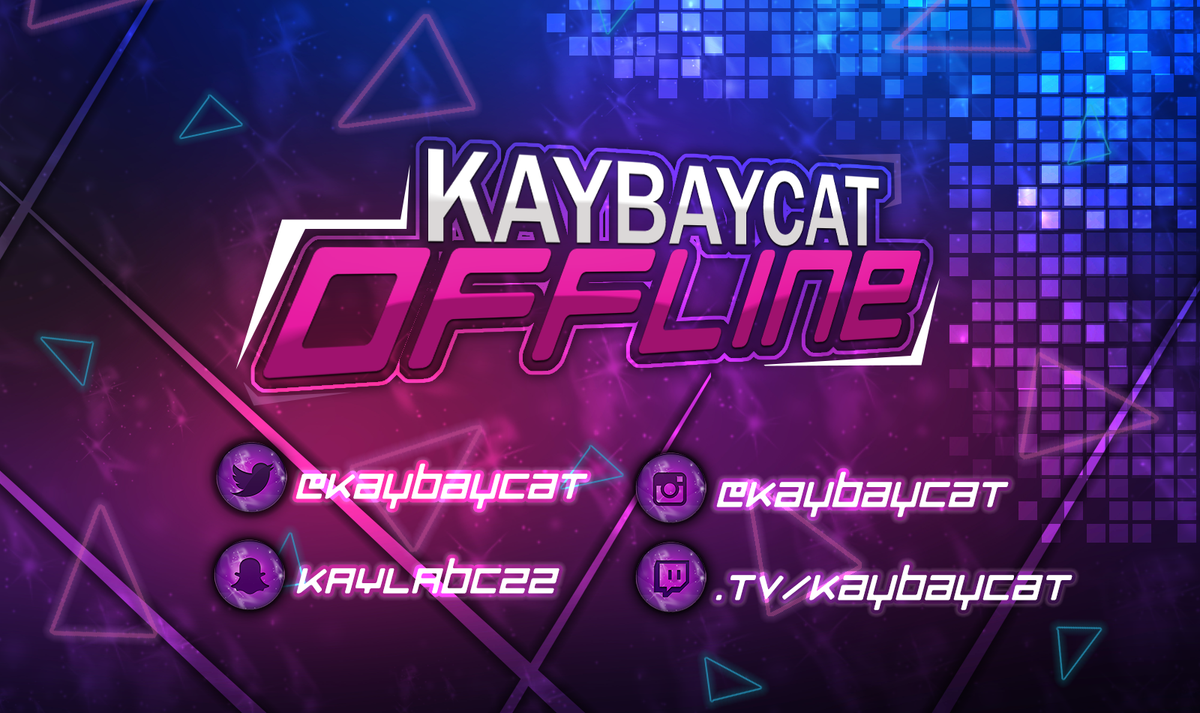 kaybaycat edc on twitter made a new offline banner i 39 m getting better at making graphics. Black Bedroom Furniture Sets. Home Design Ideas