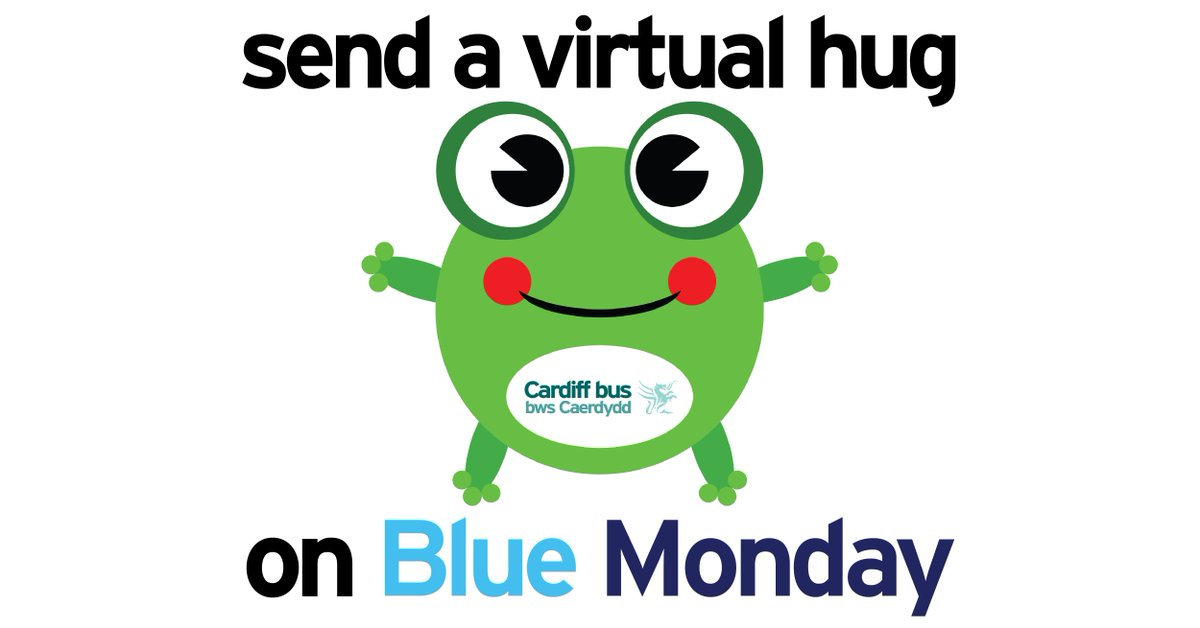 Today is dubbed #BlueMonday, so spread some joy by sharing a virtual hug and you could win a 4 week ticket with us! https://t.co/9PV8M7ddf4